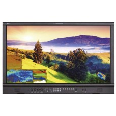 "28"" UHD 3840 x 2160 studio monitor, 10 bit panel, high brightness,  with 12G, quad 3G, HDMI inputs"
