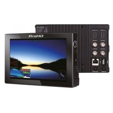 "(ProHD) 7"" LCD 1920x1200 Field Monitor, 2K/3G-SDI,  Sun Hood, DV Plate, Arm Bracket, D-Tap to DC Cable, 50 cm HD BNC Cable."